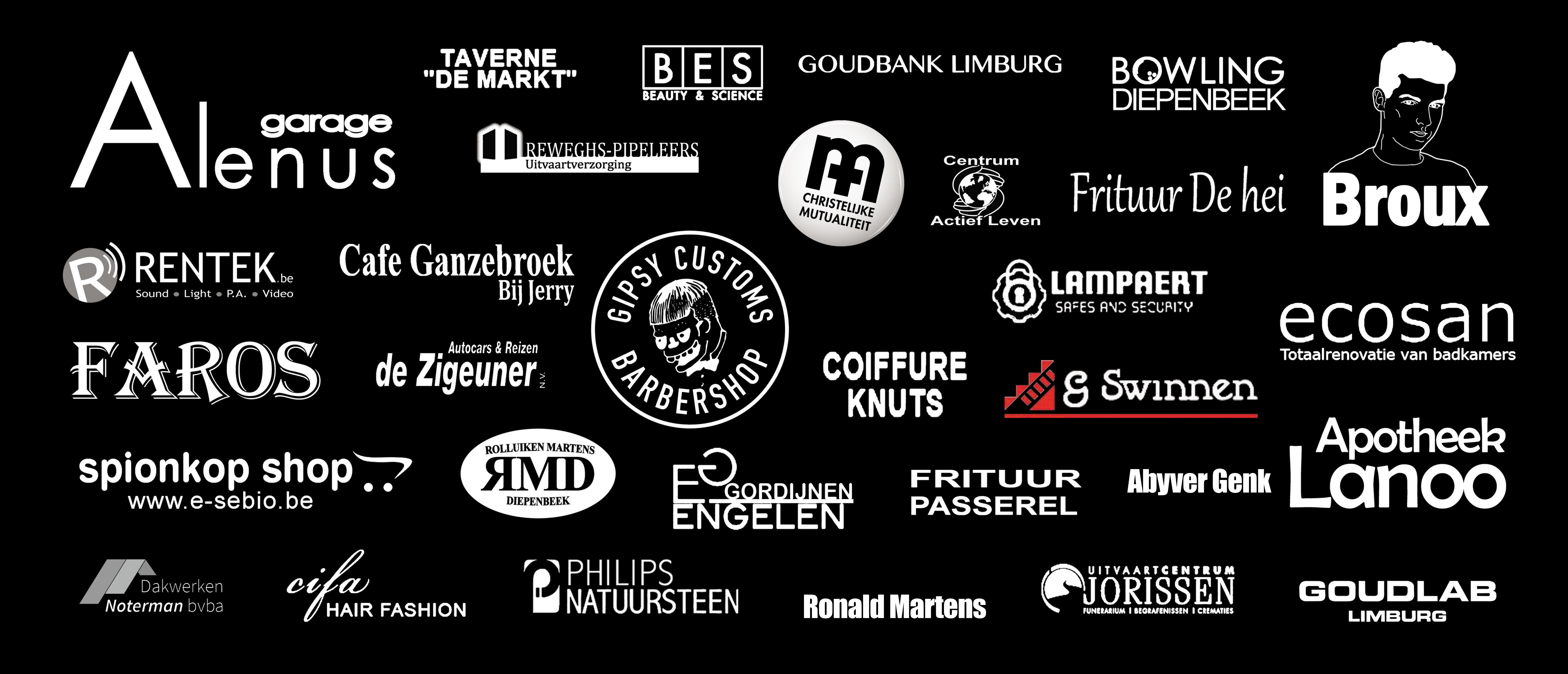 De sponsors van Safari-Party